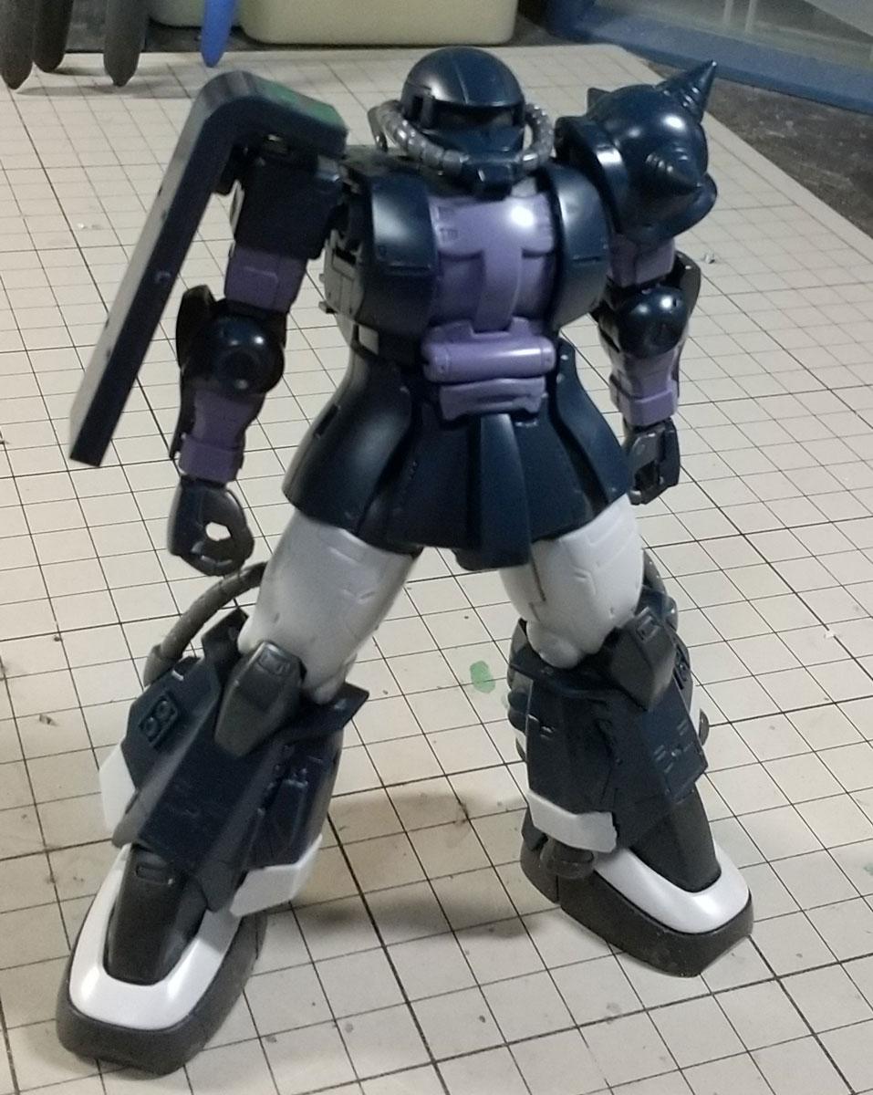 HG 高機動型ザクⅡ01